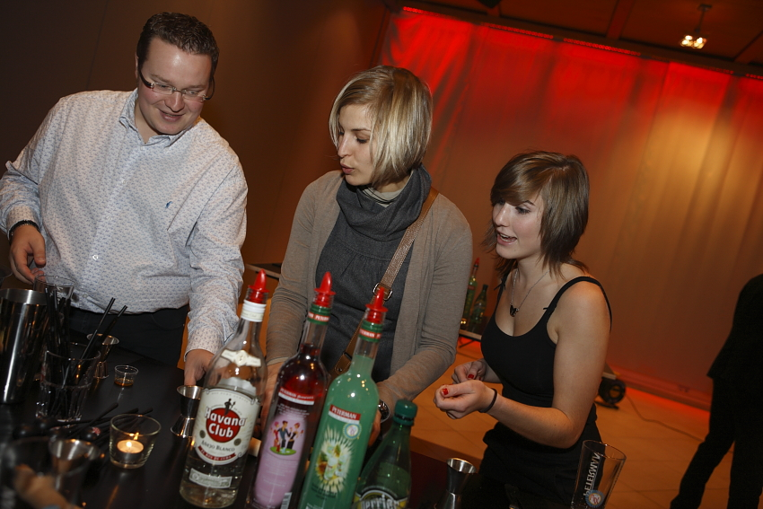 INTERACTIEVE COCKTAIL WORKSHOP BAXTER - Referenties