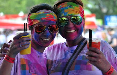 COLOR RUN FESTIVAL by POLIAKOV - Referenties
