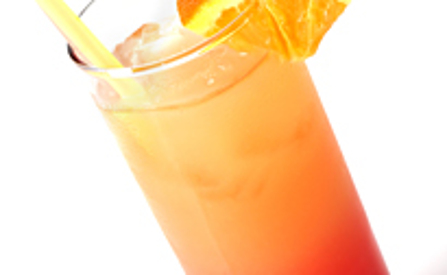 Tequila sunrise cocktails maken